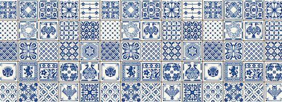 Dekor Indigo Blue