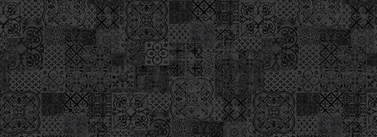 Dekor TileMix schwarz